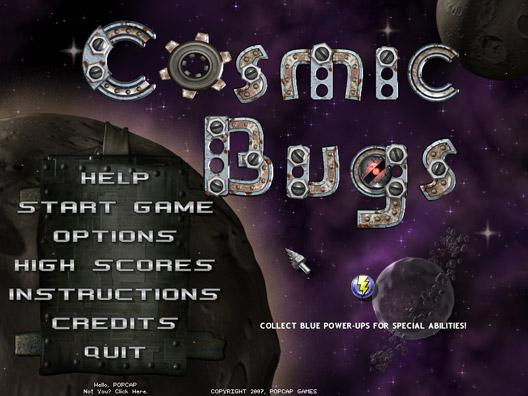 Cosmic Bugs Screenshot 2
