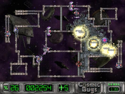 Cosmic Bugs Screenshot 1