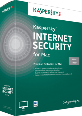 Kaspersky Internet Security for Mac Screenshot