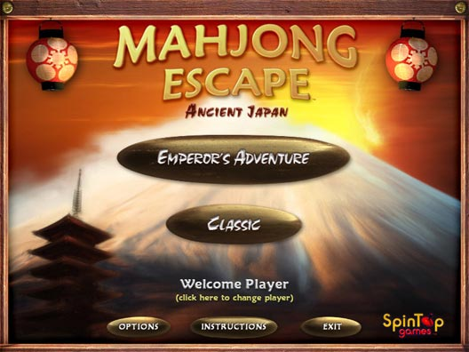 Mahjong Escape : Ancient Japan Screenshot 1