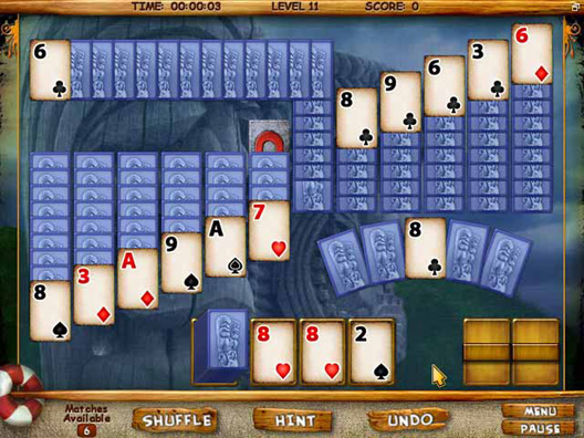 Mystery Solitaire Screenshot