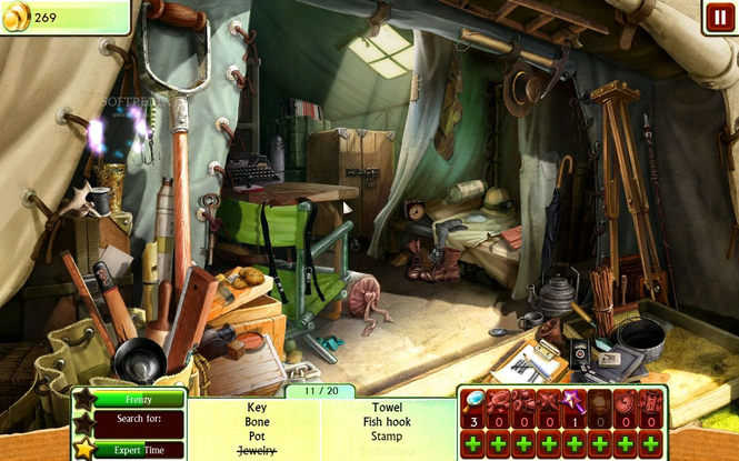 100% Hidden Objects Screenshot