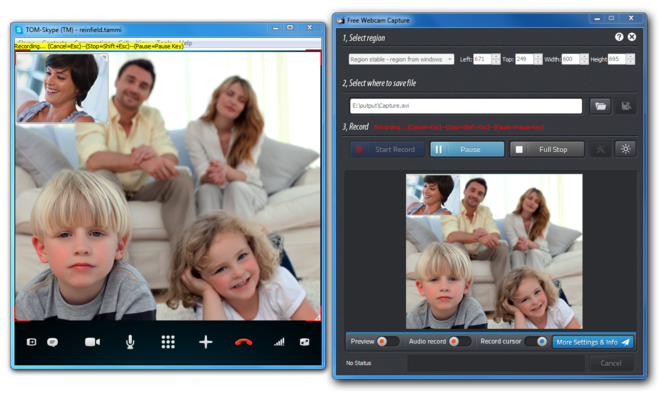 Free Webcam Capture Screenshot 2