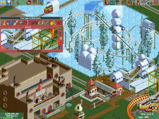 RollerCoaster Tycoon 2 - Triple Thrill Pack Screenshot