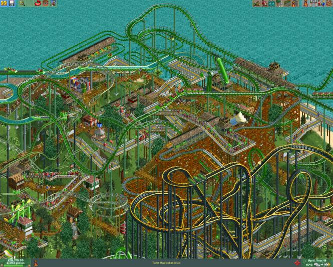 RollerCoaster Tycoon Deluxe Screenshot
