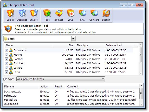 BitZipper Screenshot 3