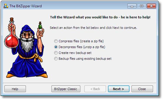 BitZipper Screenshot 4