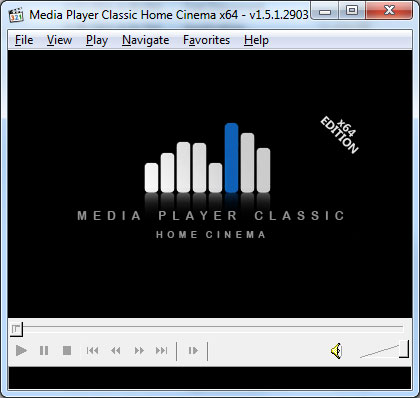 Media Player Classic - BE Screenshot 3