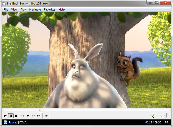 Media Player Classic - BE Screenshot
