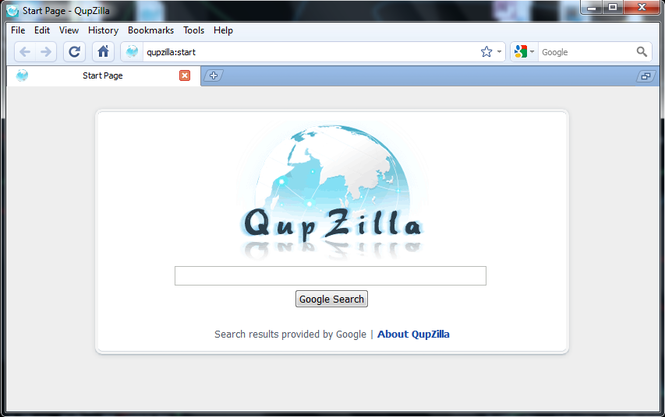 QupZilla Screenshot 1