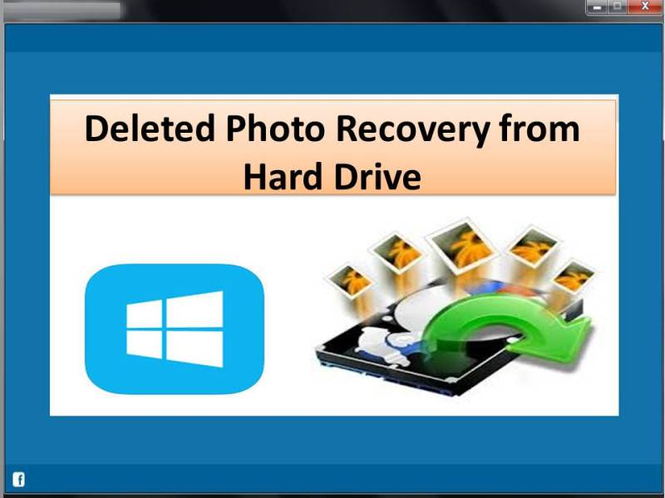 Deleted Photo Recovery from Hard Drive Screenshot
