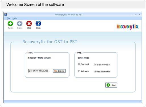 Open OST Files Screenshot 1