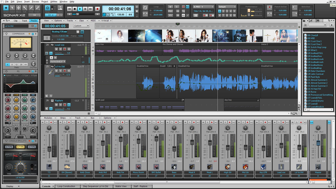 Sonar X3 Producer Screenshot 2