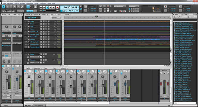 Sonar X3 Producer Screenshot 3