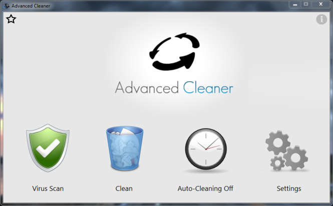Advanced Cleaner Screenshot 1