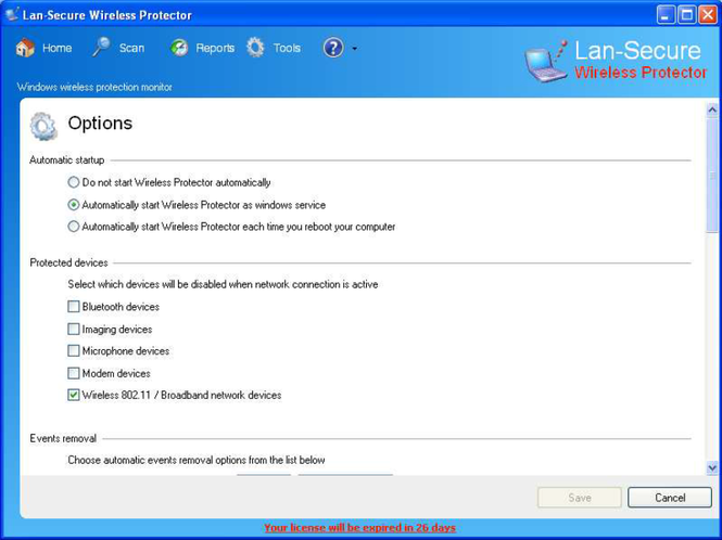 Wireless Protector Enterprise Screenshot 1