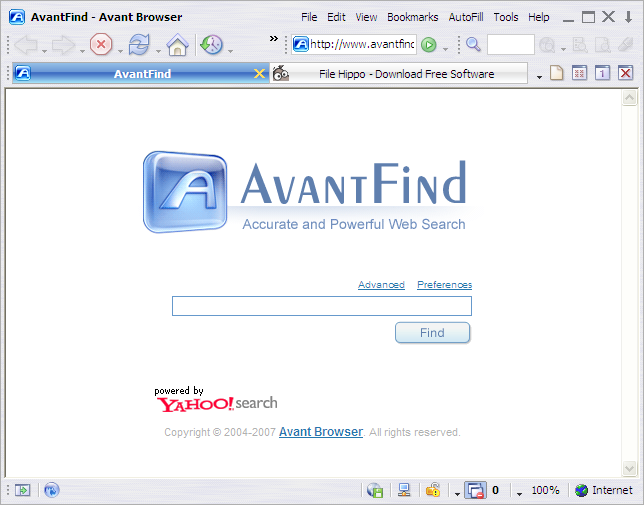 Avant Browser Lite Screenshot 2