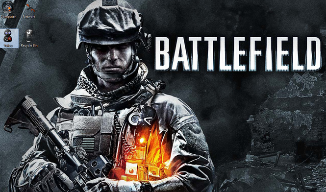 Battlefield 3 Theme Screenshot 1