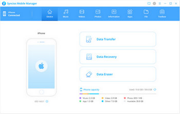 Syncios Screenshot