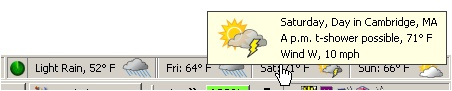 Forecastfox Weather Screenshot 3