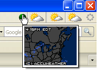 Forecastfox Weather Screenshot 2