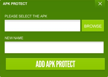 APK Protect PC Edition Screenshot 1