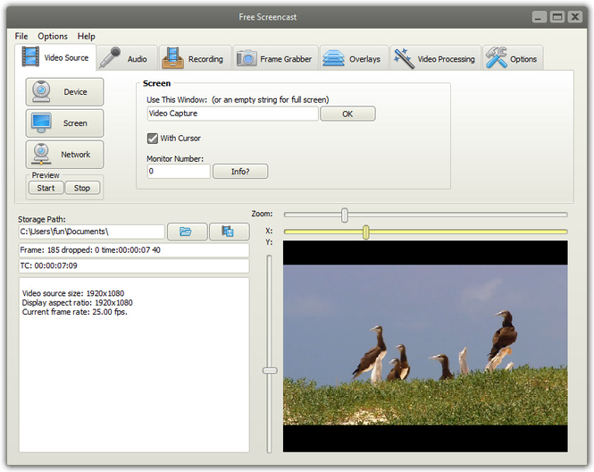 Free Screencast Screenshot 1