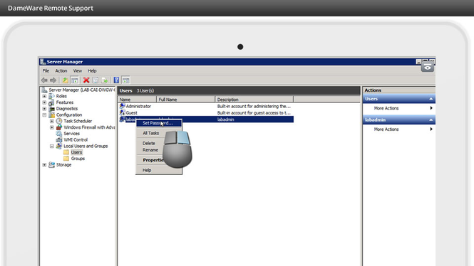 DameWare Remote Support Screenshot 3