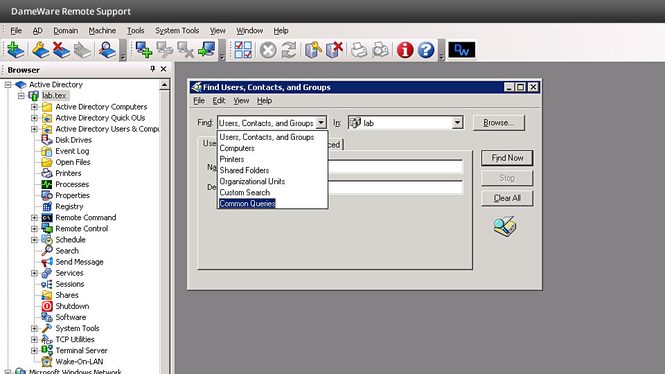 DameWare Remote Support Screenshot 4