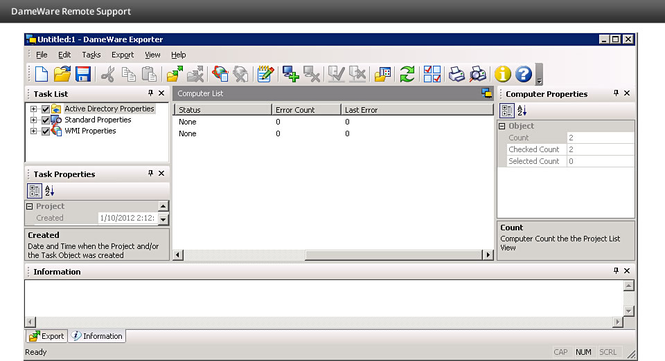 DameWare Remote Support Screenshot 6