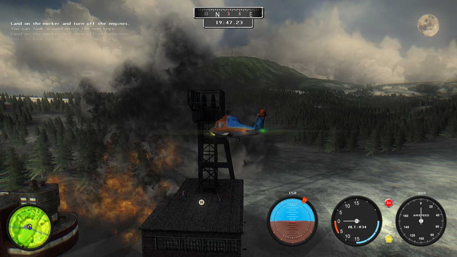 Helicopter Simulator: Search & Rescue Screenshot 3