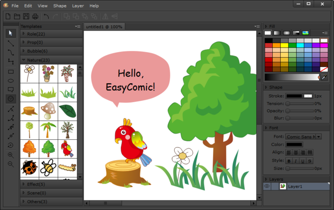 EasyComic Screenshot 2