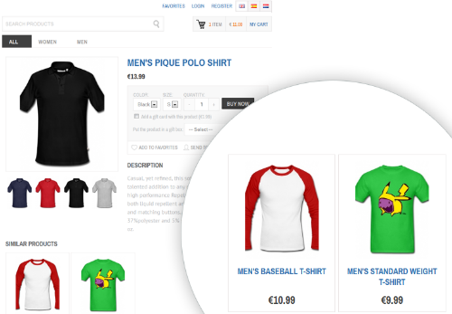 STIVA Shopping Cart Screenshot 1
