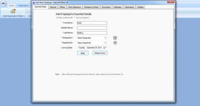 HR Cube - HRIS Software Screenshot 1
