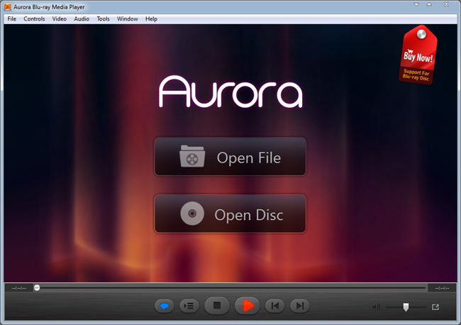 Aurora Blu-ray Media Player Screenshot 1