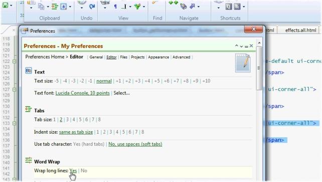 HTML-Kit Screenshot 4