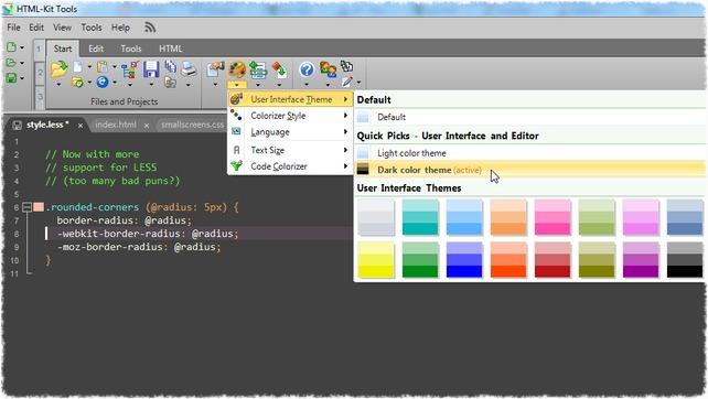 HTML-Kit Screenshot 6