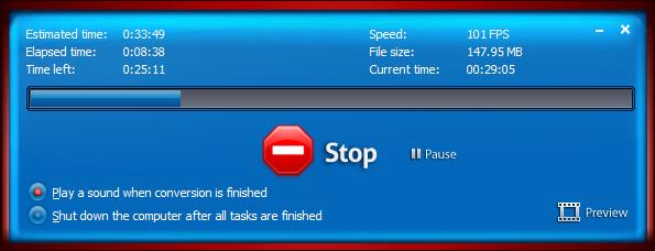 DiscCool DVD to Video Converter Screenshot 5