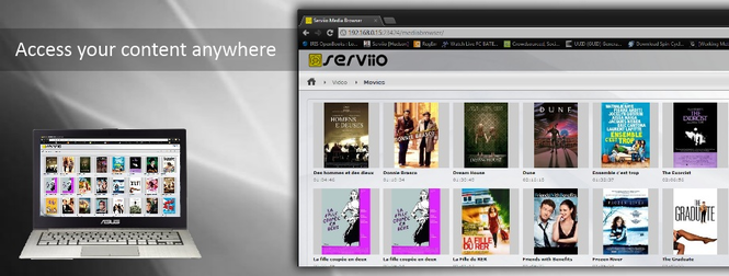 Serviio Screenshot 1