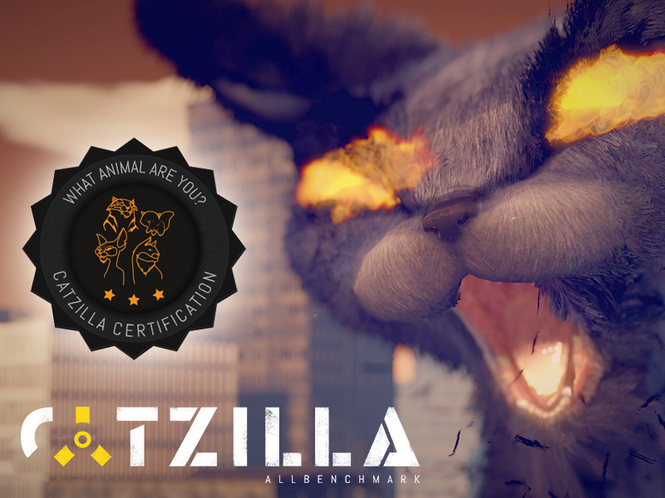 ALLBenchmark Catzilla Screenshot