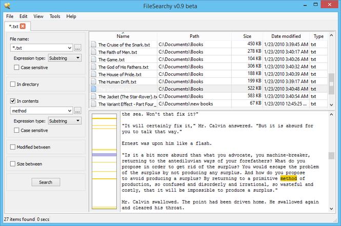 FileSearchy Screenshot 1