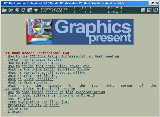 ICE Book Reader Professional Screenshot 2