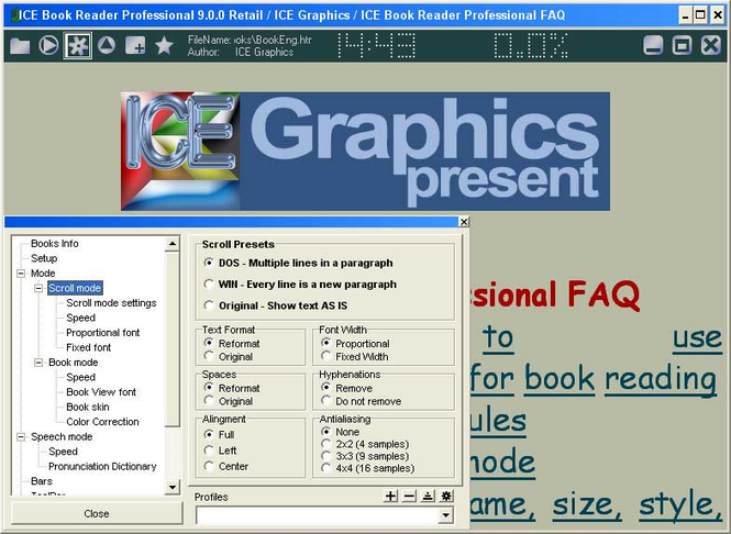 ICE Book Reader Professional Screenshot 4