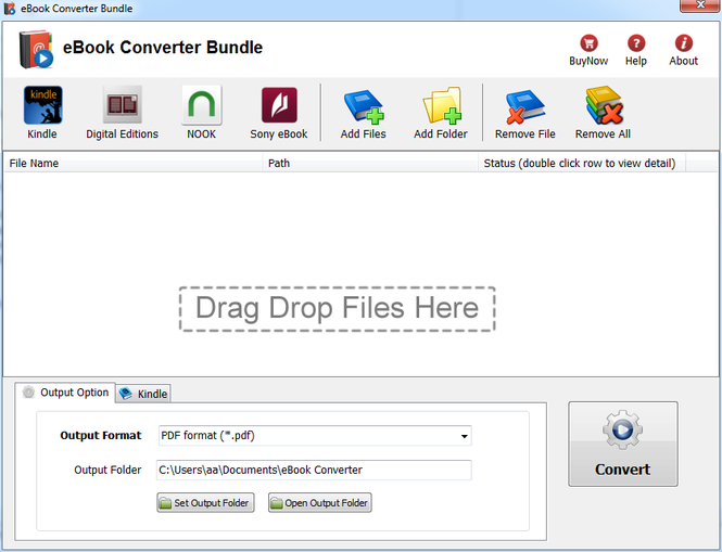eBook Converter Bundle Mac Screenshot 1