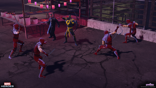 Marvel Heroes Screenshot 3