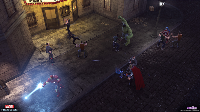 Marvel Heroes Screenshot 2