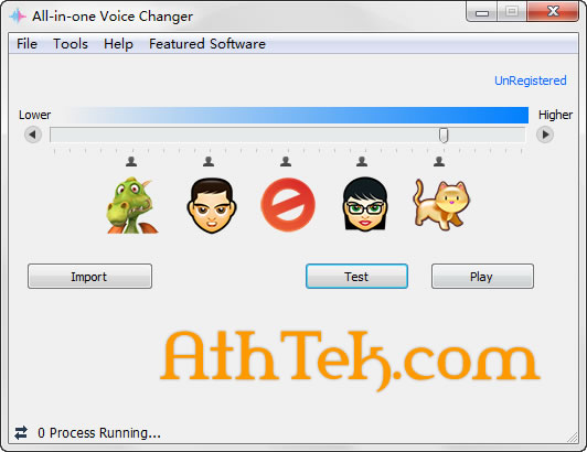 All-in-One Voice Changer Screenshot