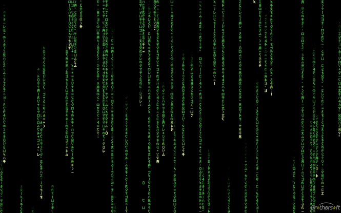 The Matrix Screen Saver Screenshot 1