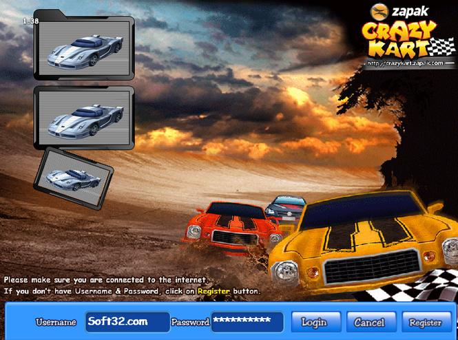 Crazy Kart Screenshot 2