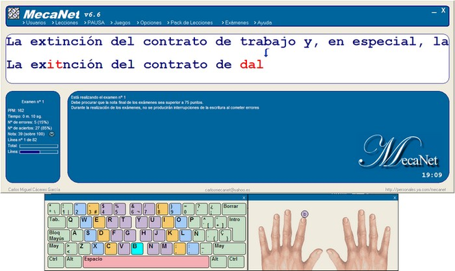 MecaNet Spanish Screenshot